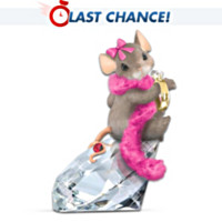 Charming Tails Diamond Dreamer Figurine