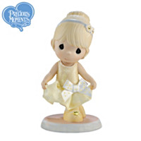 Granddaughter, Your Dancing Warms My Heart Figurine