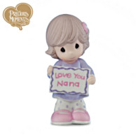 Precious Moments Love You Nana - Girl Figurine