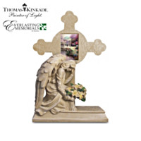 Thomas Kinkade Eternal Light Cross Sculpture