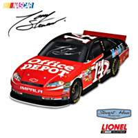 Tony Stewart #14 Office Depot Chevrolet Impala Sculpture