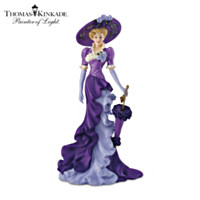Thomas Kinkade Elegant As An Iris Figurine