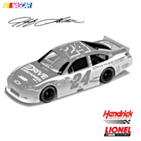 Jeff Gordon No. 24 Drive To End Hunger Ice 2011 Diecast Car