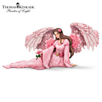 Thomas Kinkade Majestic Rose Figurine