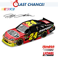 Jeff Gordon No. 24 Dupont 2012 Diecast Car