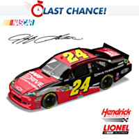 Jeff Gordon No. 24 Drive To End Hunger 2012 Diecast Car