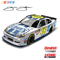 Jimmie Johnson Foundation No. 48 2012 Diecast Car