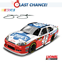 Jimmie Johnson No. 48 Lowe's NASCAR UNITES 2012 Diecast Car