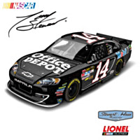 Tony Stewart Office Depot 2012 Galaxy Finish Diecast Car