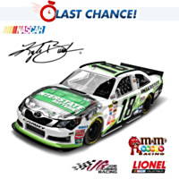 Kyle Busch No. 18 Interstate 2012 Diecast Car