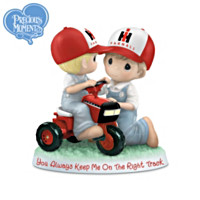 You Always Keep Me On The Right Track Figurine