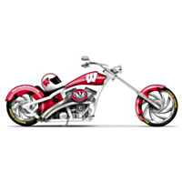 Pride Of The Badgers Cruiser Figurine