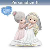 Precious Moments A Beautiful Bride Personalized Figurine