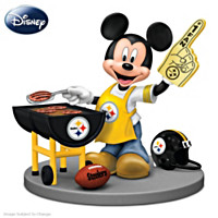 Disney Pittsburgh Steelers Fired Up For A Win Figurine