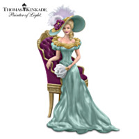 Thomas Kinkade Sitting Pretty Figurine