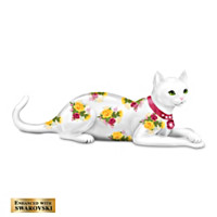 Blooming Purr-fection Figurine