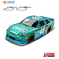 Jimmie Johnson No. 48 Lowe's/Madagascar 3 2012 Diecast Car