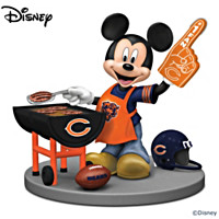 Disney Chicago Bears Fired Up For A Win Figurine