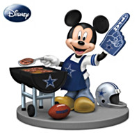 Disney Dallas Cowboys Fired Up For A Win Figurine