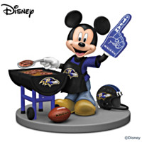 Disney Baltimore Ravens Fired Up For A Win Figurine