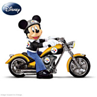 Disney Pittsburgh Steelers Headed For Victory Figurine