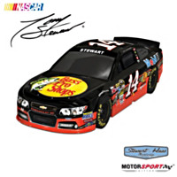 Tony Stewart No. 14 2013 Bass Pro Shops Car Sculpture