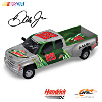 Dale Jr. #88 Diet Mountain Dew Sculpted 1:18 Truck Sculpture