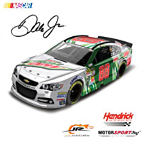 Dale Earnhardt Jr. No. 88 Diet Mountain Dew 2014 Diecast Car