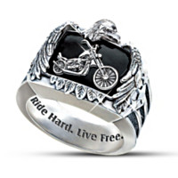 Ride Hard, Live Free Ring
