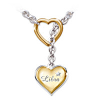 Zodiac Sign Diamond Necklace Jewelry