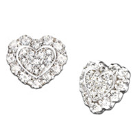 Hearts Of Love Diamond Earrings