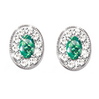 Legend Of The Emerald Earrings