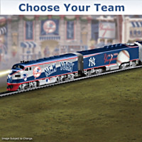 Choose Your Team! Major League Baseball Train