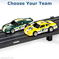NFL Slot Car Set