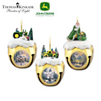 John Deere & Thomas Kinkade Ornament Set: Set Two