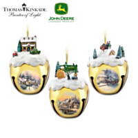 John Deere & Thomas Kinkade Ornament Set: Set Four