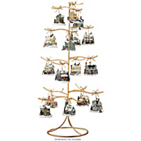 Gold Wire Ornament Tree