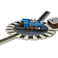 Hawthorne Railways Motorized Turntable Train Accessory