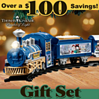 Thomas Kinkade Snowtown Express Train Set