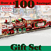 Rudolph's Christmas Town Express Train Set