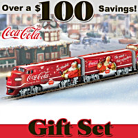 COCA-COLA Through The Years Express Train Set