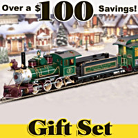 Thomas Kinkade's Christmas Express Train Set
