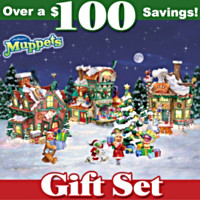 The Muppets North Pole Village Bundle