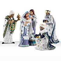 Silent Night Nativity Set