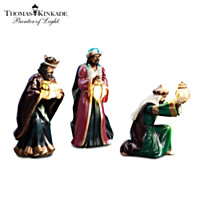 Thomas Kinkade Light From Within Figurine Set
