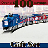 New York Giants Express Train Set