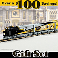 Pittsburgh Steelers Express Train Set
