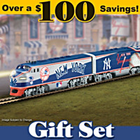 New York Yankees Express Train Set