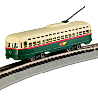 PTC Street Car N-Scale Train Car