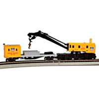 Union Pacific Crane & Boom N-Scale Train Car